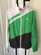 Puma Sport Lifestyle Wonderful Zipper Front Windbreaker Jacket Sm - $30.94