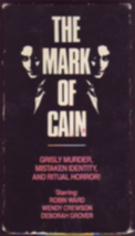 Mark of Cain Vhs image 1