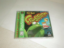 Frogger playstation 1 game VG tested 1998 - $12.00