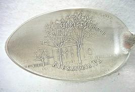 Sterling Silver Souvenir Spoon Alexandria, VA Christ Church - $35.36