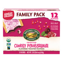 Natures Path Organic Toaster Pastries, Frosted Cherry Pomegranate, 12 Ct - $10.00