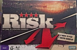 Risk Game of Strategic Conquest Parker Brothers Classic Board Game 2008 ... - $14.95