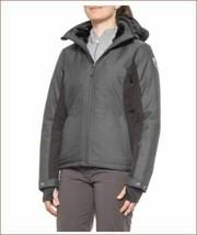 new Killtec women ski jacket coat 35245 water resistant black sz 16 - $89.19