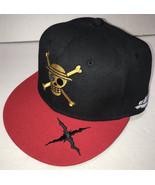 Skull Crossbones Hat Mens Adjustable Baseball Cap X Skeleton Hands Black... - $14.69