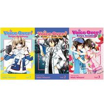 VOICE OVER: SEIYU ACADEMY English MANGA Series by Maki Minami Set of Boo... - $35.99