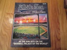 1990 Chicago White Sox Game Program MLB Baseball - $8.99
