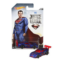 NEW 2017 Hot Wheels 1:64 Die Cast Car DC Justice League POWER PRO Superm... - €12,79 EUR