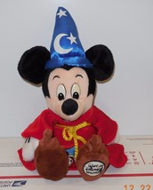 "Walt Disney World Exclusive Sorcerer Mickey Mouse 10"" plush toy RARE HTF - $23.38"