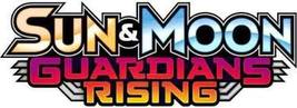 Pokemon Sun & Moon Guardians Rising 10 card Booster Pack  - $6.00