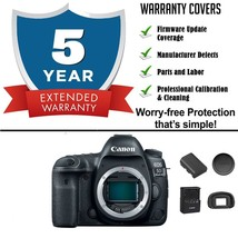 Canon EOS 5D Mark IV Digital SLR Camera Body with 5 Year Extended Warranty - $2,292.47