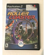 PlayStation 2 PS2 Roller Coaster Theme Park Game with Case and Instructions - $5.99