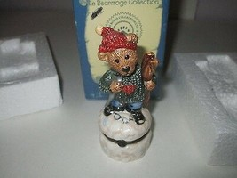 """Boyds Bears """"Le Bearmoge Collection""""  Style No. 392003 ~ Knut...Downhill... - $8.99"""