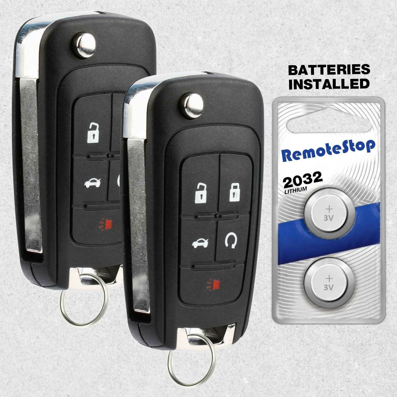 Primary image for 2 For 2010 2011 2012 2013 2014 2015 2016 GMC Terrain Car Remote Flip Key Fob