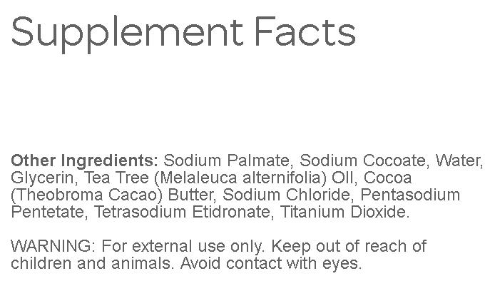 TEA TREE OIL BODY HAND 100% NATURAL Melaleuca ANTIFUNGAL HERBAL PURE SOAP 7 BARS image 3