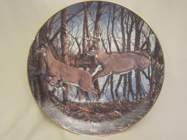 CRIPPLE CREEK collector plate BRUCE MILLER Wildlife DEER Friends of the ... - $19.99