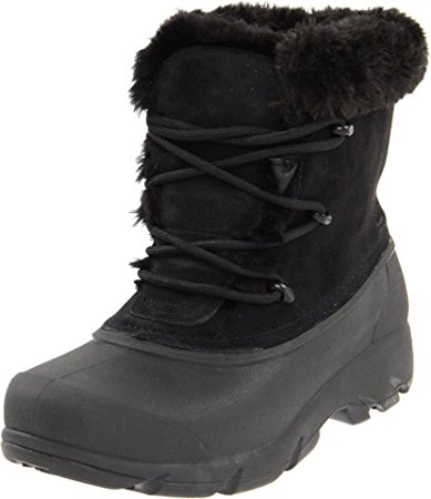 Primary image for Sorel Women's Snow Angel Lace Boot,Black/Noir,7 M