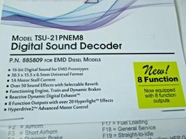 Soundtraxx 885809 Tsunami 2 TSU-PNEM8 Sound Decoder EMD Diesel, 8 Function image 2