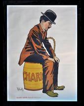 "11 X 14""  canvas art print~ Charlie Chaplin - Vintage Movie Poster, sile... - $23.99"