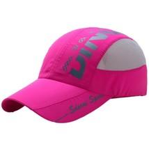 6 Colors Mesh Baseball Cap Summer Print Letter Quick Dry Mesh Unisex Hat... - £7.47 GBP