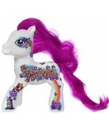 Hasbro My Little Pony Power Designer Edition 2010, White w/Purple Mane 4... - £29.11 GBP