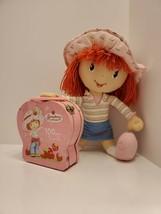 Vintage 2008 Strawberry Shortcake Plush Stuffed Doll Kelly Toy Puzzle In... - $9.00