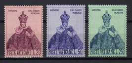 1968 Infant of Prague Set of 3 Vatican Postage Stamps Catalog Number 464-66 MNH