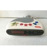 Vintage Playskool Electronics Melody Maker AM/FM Clock Radio Works - $99.99