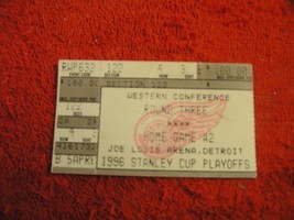 NHL 1996 DETROIT RED WINGS STANLEY CUP PLAYOFF Western Conf Round 3 Tick... - $3.99