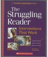 The Struggling Reader : Interventions That Work Theory Practice PB Coope... - $8.59