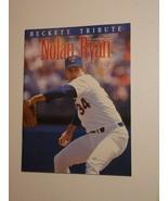 Nolan Ryan Beckett Tribute Issue 1 1993 Texas Rangers - $7.99