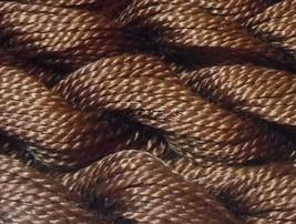 DMC Pearl Cotton Size 3 Color #801 Dark Coffee Brown - $1.70