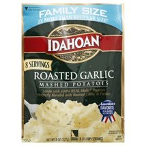 Idahoan Roasted Garlic Mashed Family Size, 8 oz Pouch - $4.00