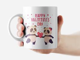 Happy Valentines Day Mug Funny Rude Quote Coffee Mug Cup Q301 - $12.20+