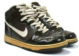 Vtg Nike Dunk High Premium Baroque Brown Birch-Black Size 10 - 312786 223 - $395.99