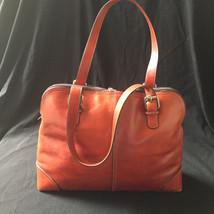 FOSSIL Vintage Large Saddle Brown Leather Purse 75082 - $54.45