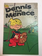 Hallden Fawcett Dennis The Menace No 60 1962 Silver Age Comic  - $17.05