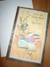 Vtg Pleasant Thoughts Congratulations As you Graduate From High School U... - $5.99
