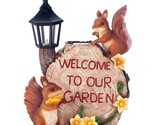 Solar welcome to our garden squirrels image thumb155 crop