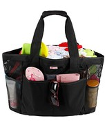 Mesh Beach Bag for Women -Extra Large Beach Tote Bag with 9 Oversized Po... - $24.61