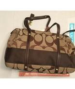 COACH  F11102 Tote Bag Signature Canvas - $89.00