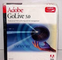 Adobe Go Live 5.0 UPGRADE NEW               - $18.99