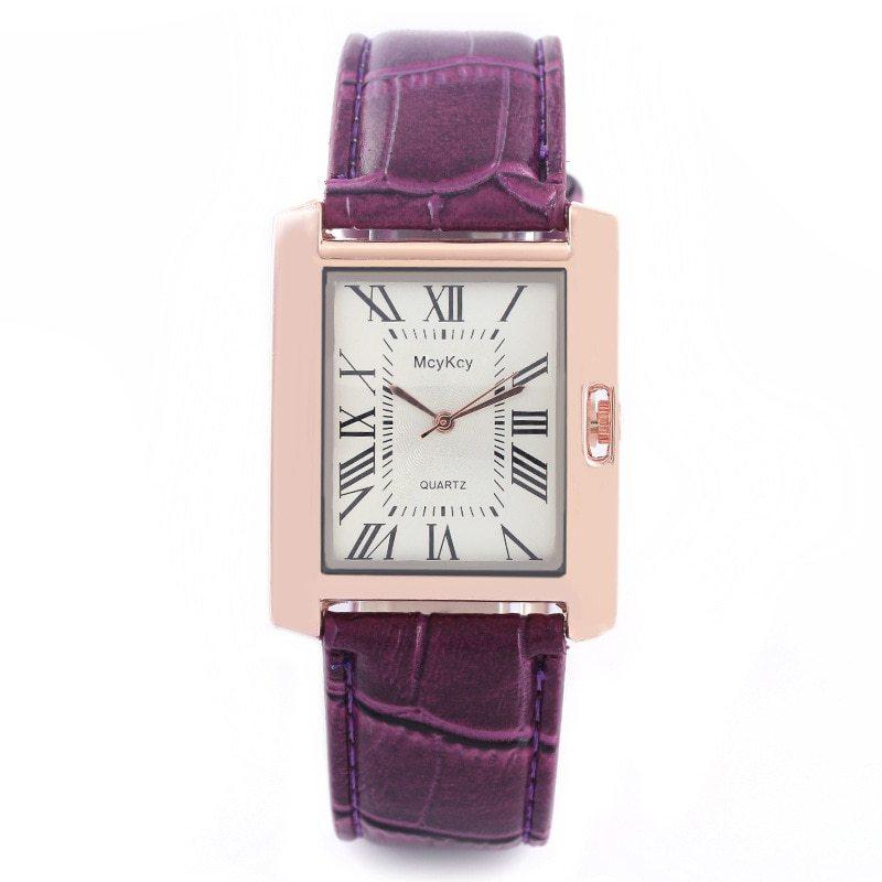 2018 Vintage Unique Rectangle Watch Womens Fashion Luxury Watches Ladies Wristwa image 6
