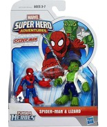 Playskool Heroes Spider-Man Adventures 2-Pack - Spider-Man and Lizard - $22.99