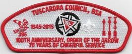 Tuscarora Council Lodge 296 2015 100th Anniversary CSP (D) - $11.88