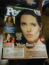 People Magazine - Angelina Jolie Cover - May 26, 2014 - $5.93
