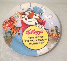 "VTG Kellogg's Choo Choo Train Plate 8""Tony the Tiger Railroad Collectibl... - $15.64"