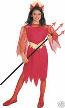 Devilina Girls Halloween Costume Child Size Small 4-6 - $13.89
