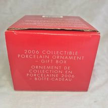 Avon 2006 Collectible Porcelain Gift Box Ornament Christmas Decoration Xmas image 8