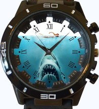 Jaws Shark Attack New Gt Series Sports Unisex Gift Watch - $46.35 CAD