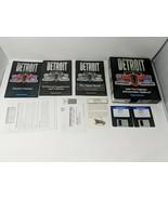 Detroit IBM PC Big Box Computer Game 1994 Sierra Impressions Software 90... - $98.99